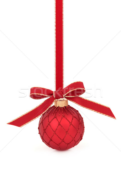 Christmas Decorative Bauble Stock photo © marilyna