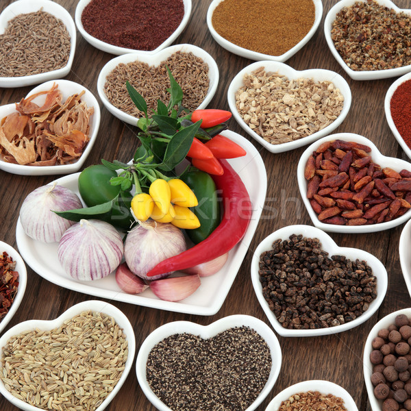 Herbs n Spice is Nice Stock photo © marilyna