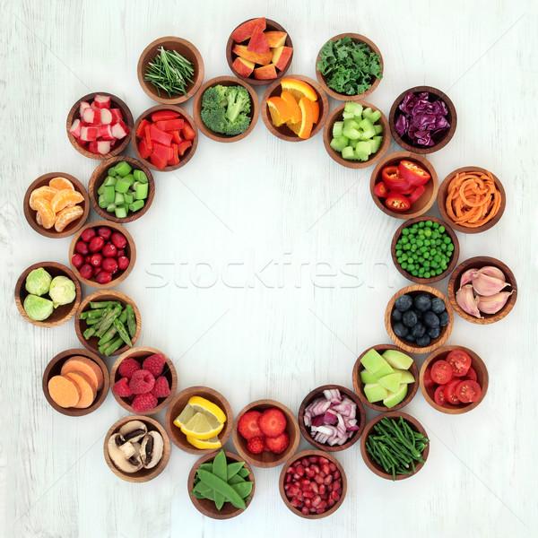 Foto d'archivio: Paleo · dieta · salute · super · alimentare · frutta