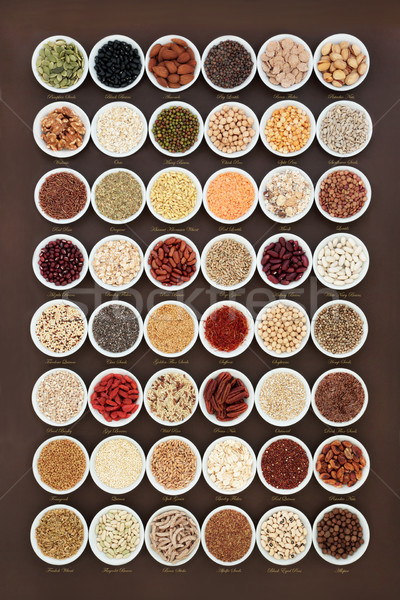 High Fiber Health Food Sampler Stock photo © marilyna
