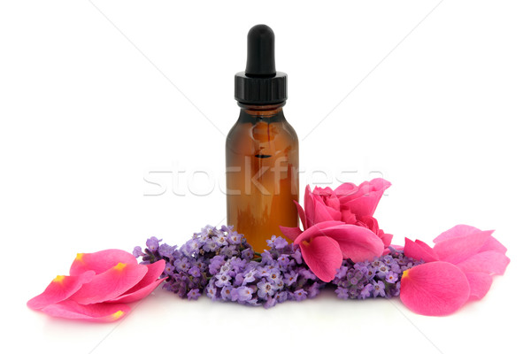 Rose and Lavender Therapy Stock photo © marilyna