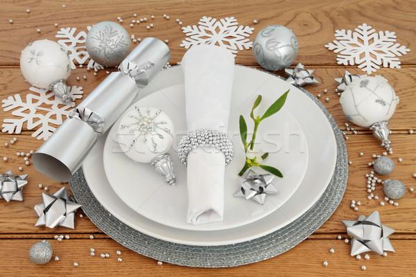 Christmas Dinner Time Stock photo © marilyna