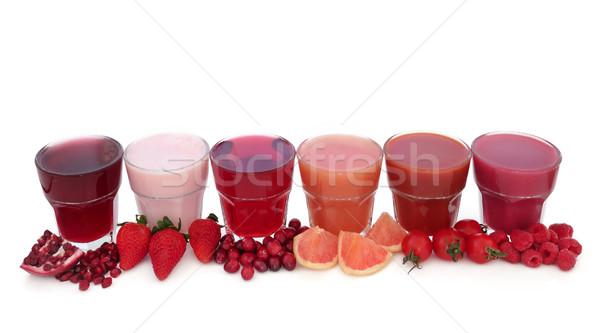 Fruit Juice Health Drinks Stock photo © marilyna