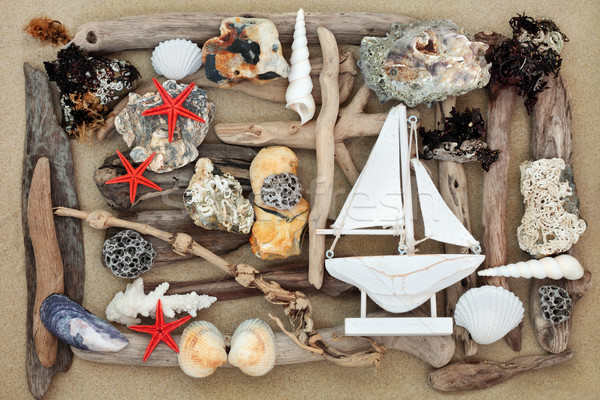 Beach Art Abstract Stock photo © marilyna
