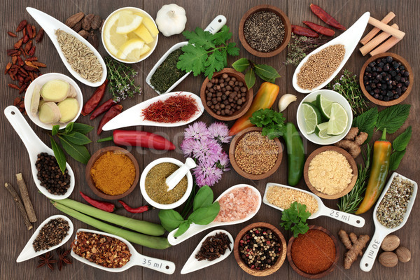 Spices and Herbs  Stock photo © marilyna