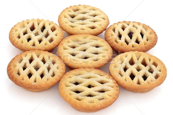 пироги пирог группа изолированный белый избирательный подход Сток-фото © marilyna