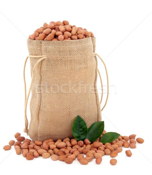 Sack of Peanuts   Stock photo © marilyna
