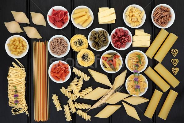 Healthy Pasta Selection Stock photo © marilyna