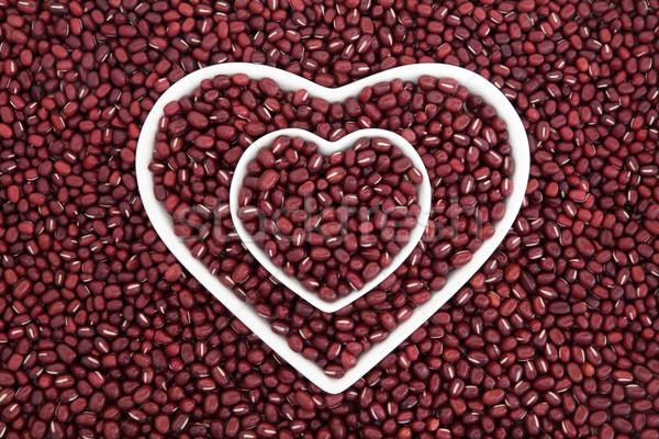 Adzuki Beans Stock photo © marilyna
