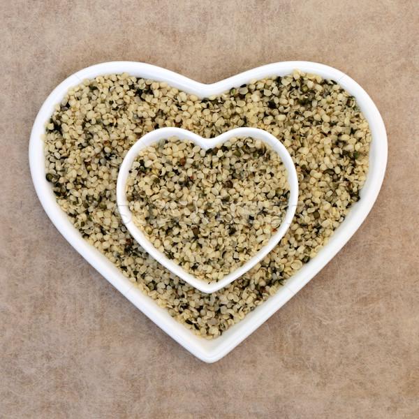 Hulled Hemp Seed Super Food Stock photo © marilyna
