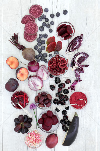 Stock photo: Healthy Eating with Anthocyanin Food