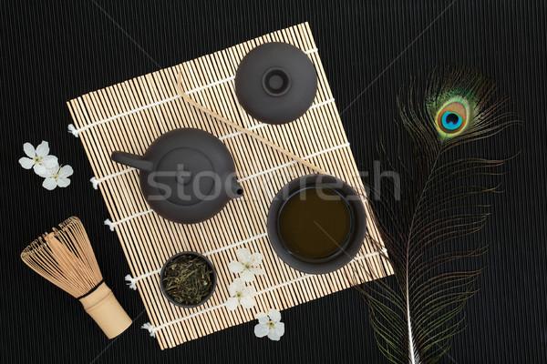 Japanese Sencha Tea Ceremony Stock photo © marilyna