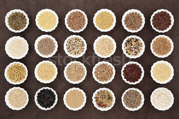 Large Grain and Cereal Food Sampler Stock photo © marilyna