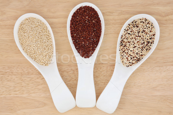 Quinoa Varieties Stock photo © marilyna