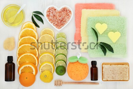 Natural Skin Care Products Stock photo © marilyna