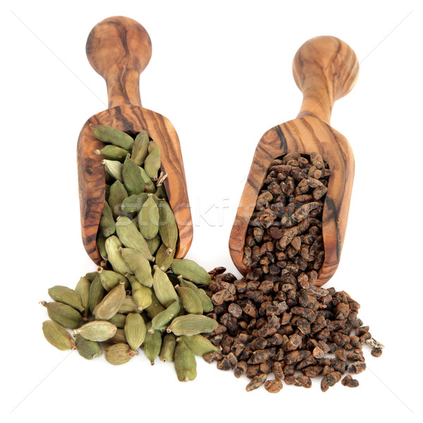 Cardamom Pods and Seeds Stock photo © marilyna
