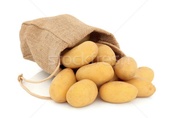 New Potatoes Stock photo © marilyna