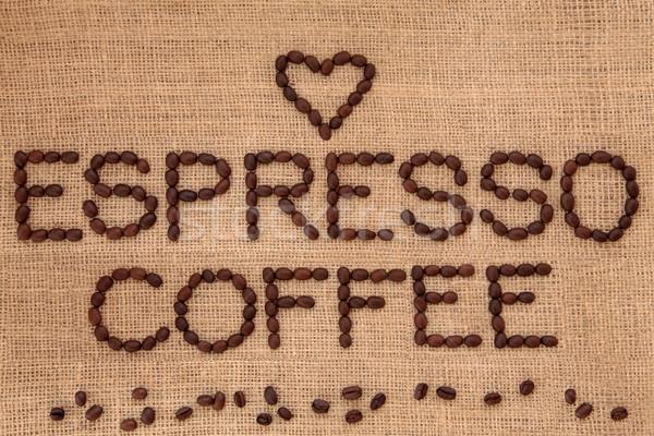 Espresso Coffee   Stock photo © marilyna