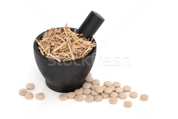 Ginseng Herbal Therapy Stock photo © marilyna