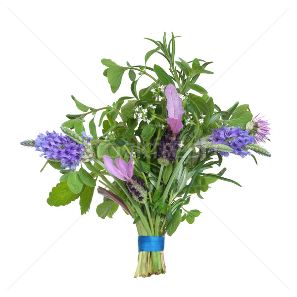 Stock photo: Herb Flower Posy
