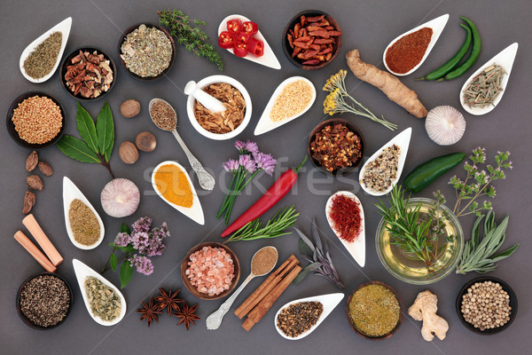 Herb and Spice Abstract   Stock photo © marilyna
