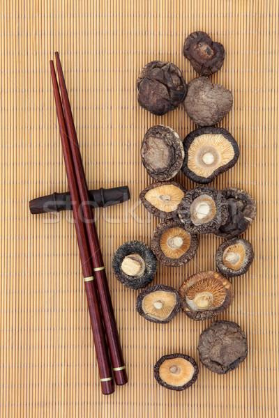 Shiitake Mushrooms Stock photo © marilyna