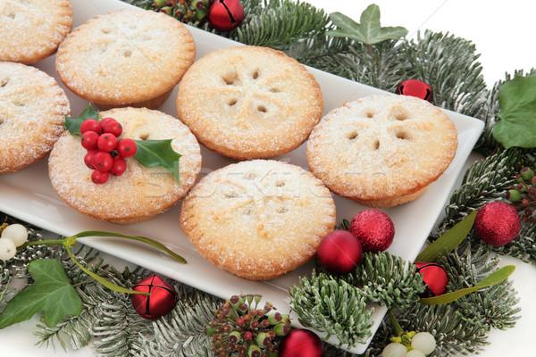 Stock photo: Christmas Mince Pies