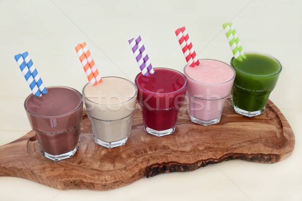 Health Food Supplement Drinks Stock photo © marilyna