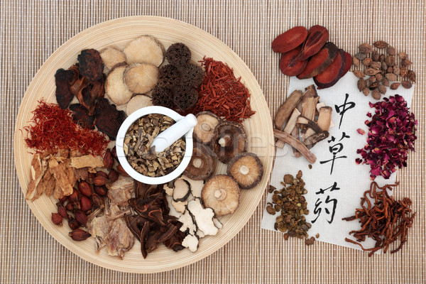 Chinese Herbs Stock photo © marilyna