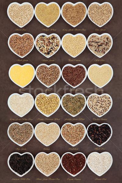 穀物 穀物 食品 食品 中心 ストックフォト © marilyna