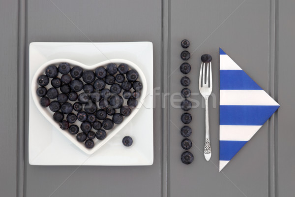 Blueberry Superfood Stock photo © marilyna