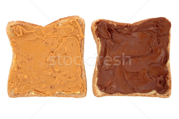 Peanut Butter and Chocolate Snack Stock photo © marilyna