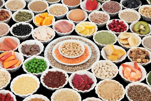 Jó tápláló étel nagy egészség testépítés Stock fotó © marilyna