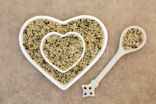 Shelled Hemp Seeds Stock photo © marilyna
