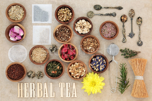 Herbal Tea Selection Stock photo © marilyna