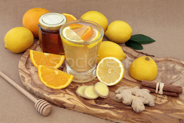 Healthy Cold Cure Drink Stock photo © marilyna