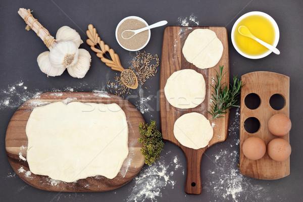 ペストリー 材料 新鮮な メイプル 卵 ストックフォト © marilyna