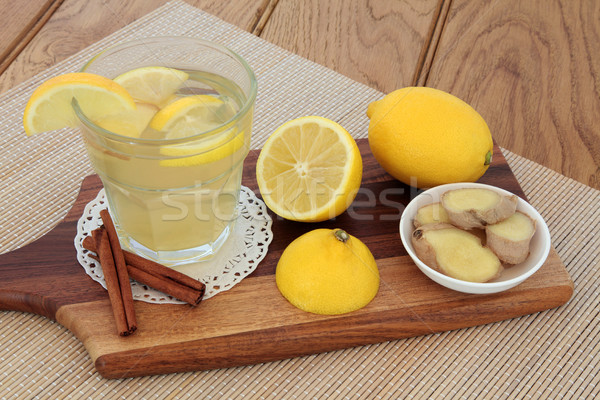Cold and Flu Soothing  Drink Stock photo © marilyna