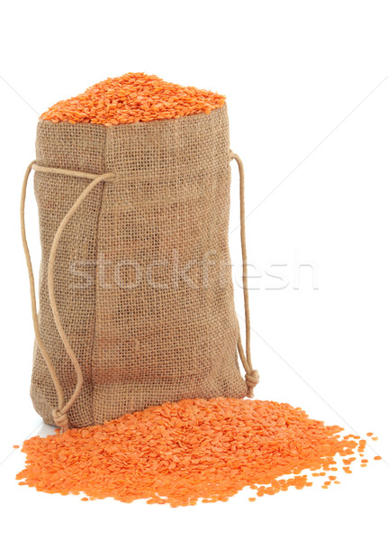 Red Lentils Stock photo © marilyna