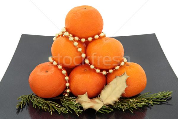 Christmas Fruit Stock photo © marilyna