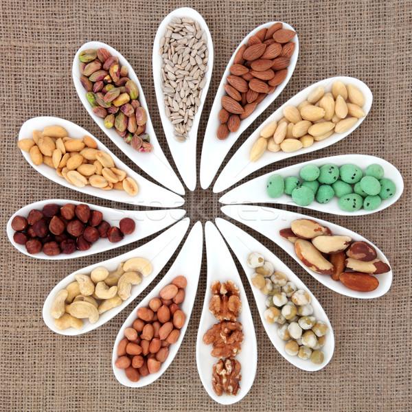 Nut Sampler Stock photo © marilyna