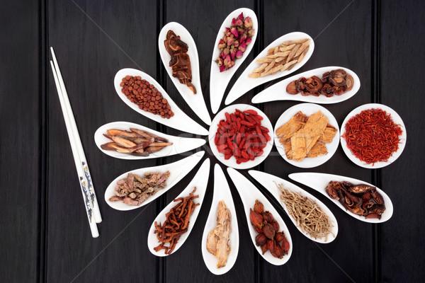 Natural Herbal Medicine Stock photo © marilyna