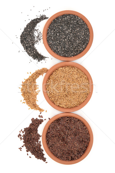 Linseed and Chia Seeds Stock photo © marilyna