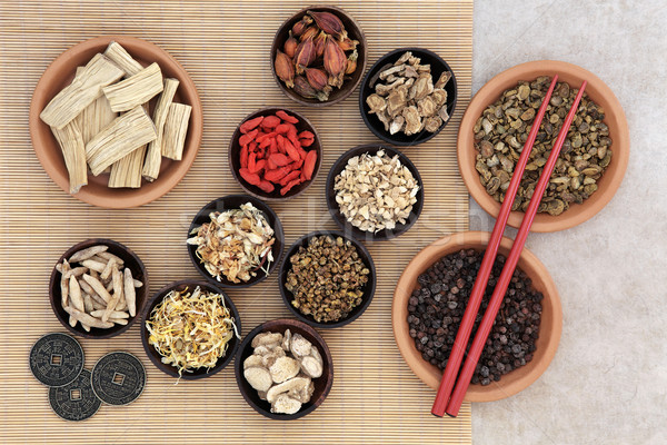 Traditional Herbal Medicine Stock photo © marilyna