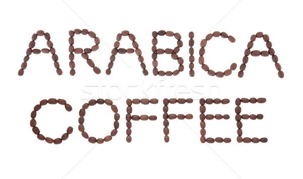 Arabica Coffee Sign Stock photo © marilyna