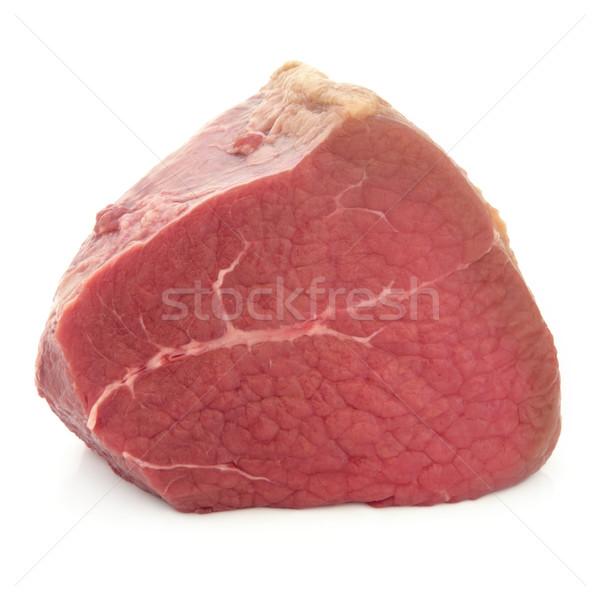 Rundvlees gezamenlijk filet vlees witte Stockfoto © marilyna