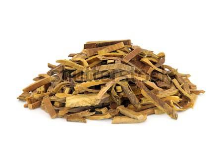 Cork arbre écorce herbe utilisé chinois Photo stock © marilyna