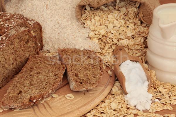 Soda Bread Ingredients Stock photo © marilyna