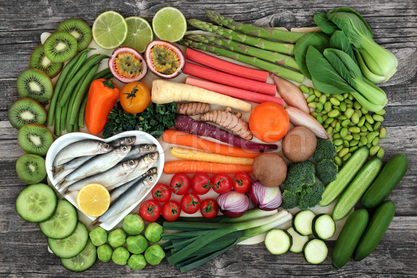 Health Food for Healthy Eating Stock photo © marilyna