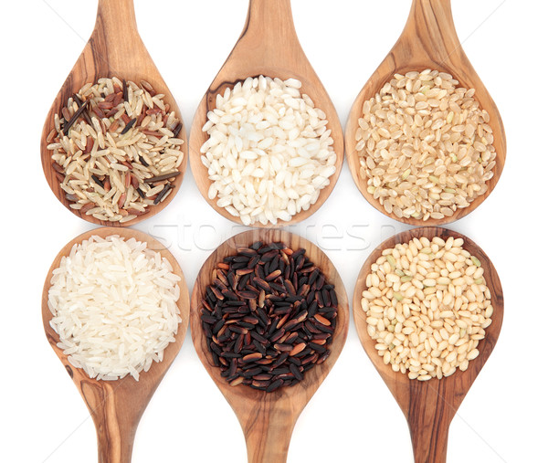 Rice Varieties Stock photo © marilyna